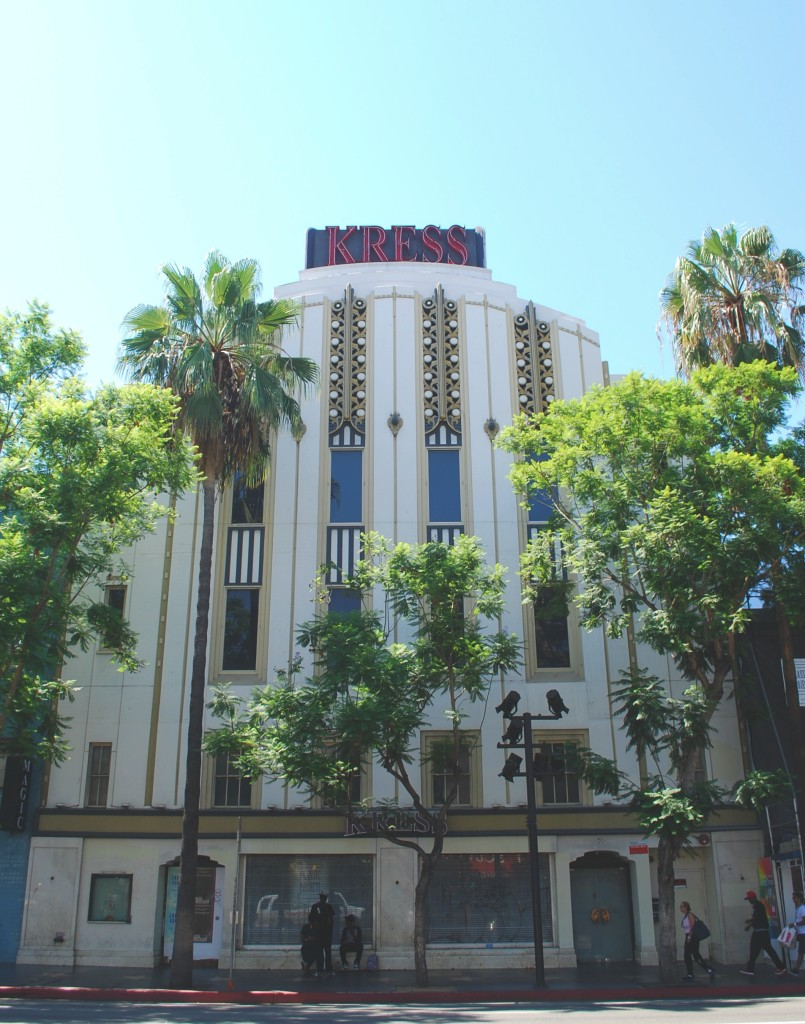 Kress Building, Hollywood Boulevard