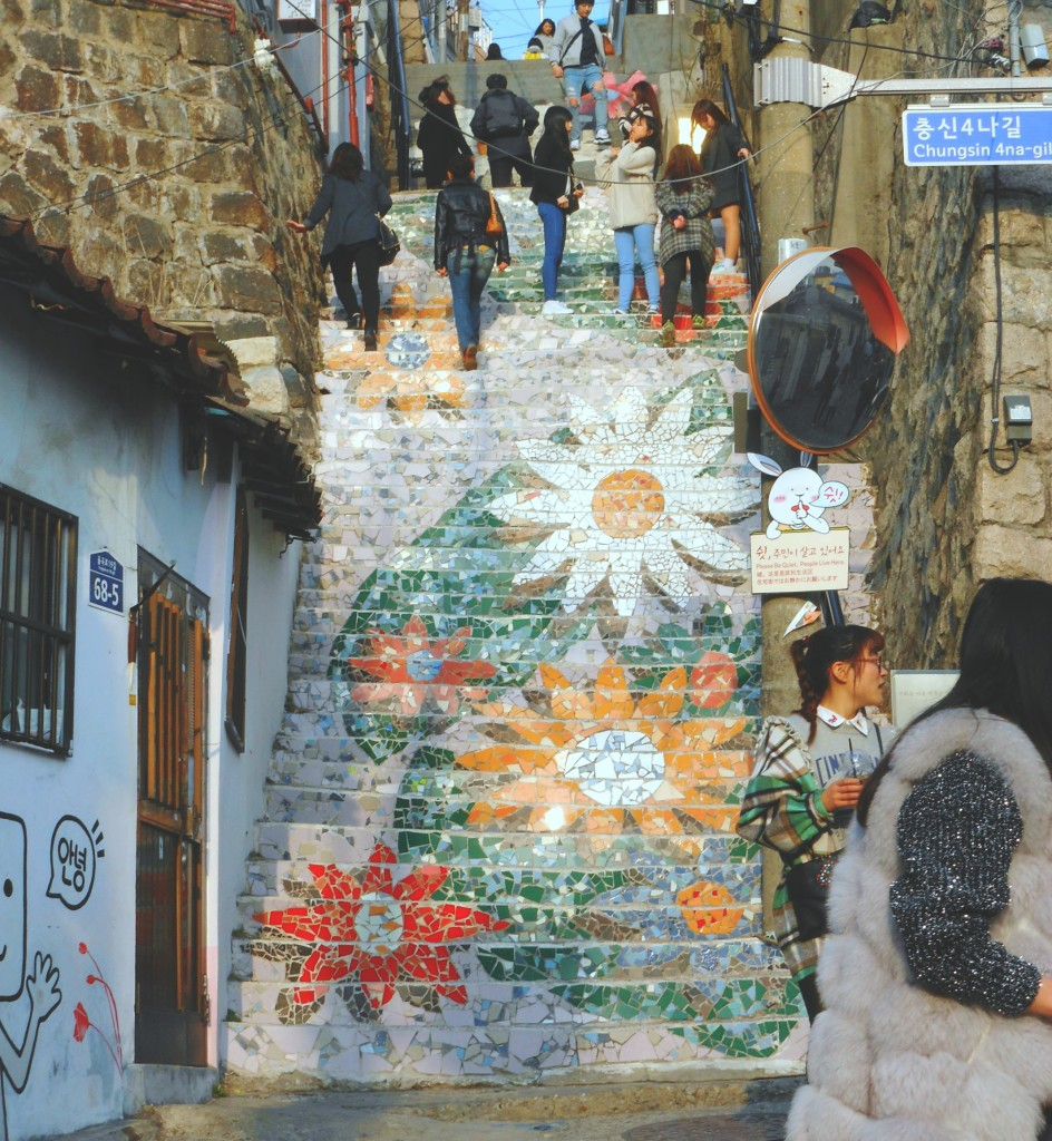 Explore one of Seoul's more off the beaten path areas: Ihwa Mural Village. A charming little art village off of Hyehwa Station, Ihwa is small and intimate.
