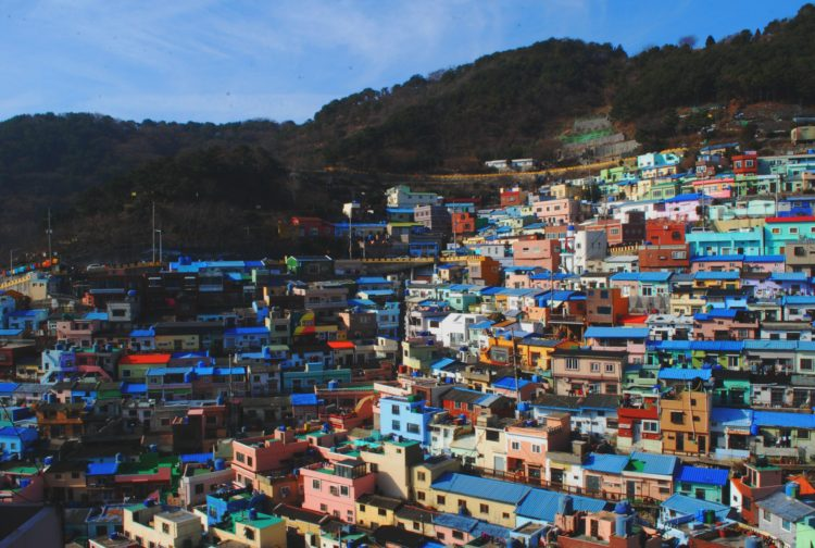 The Colorful Gamcheon Culture Village in Busan