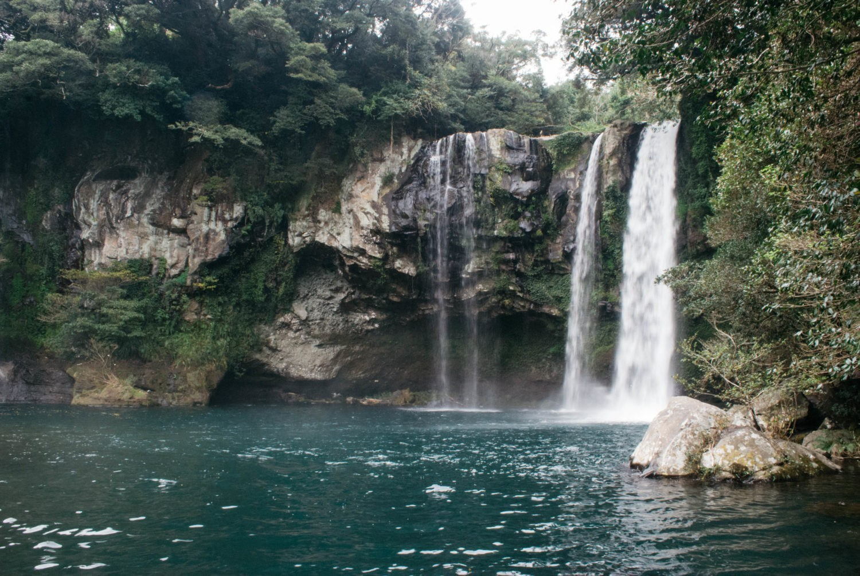 Cheonjiyeon Waterfall   There She Goes Again