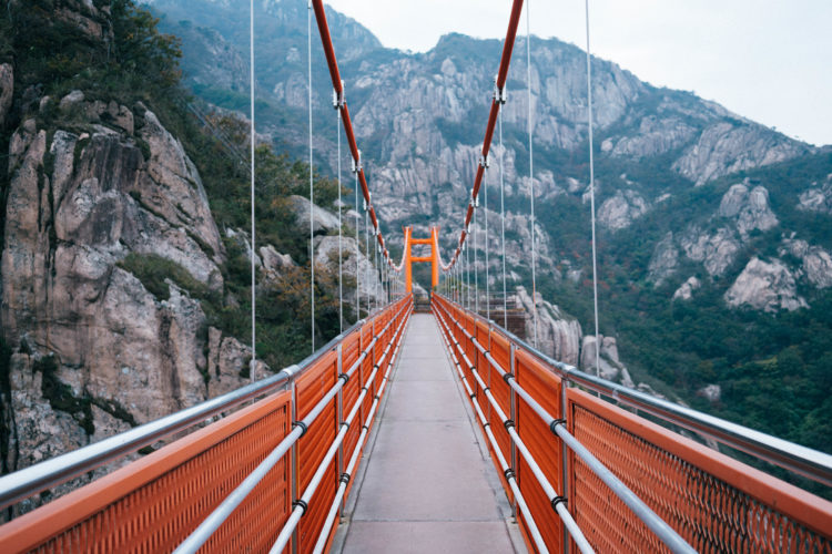 Hiking Wolchulsan To Cross One Of Koreas Must See Bridges There