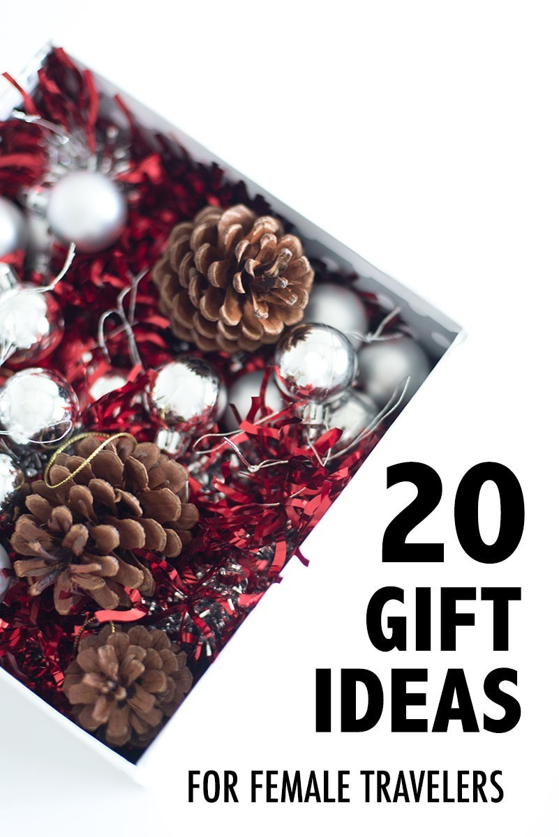 Holiday gift guide for female travelers there she goes again for Christmas gifts for travelers