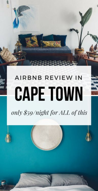 staying at an airbnb in cape town there she goes again. Black Bedroom Furniture Sets. Home Design Ideas