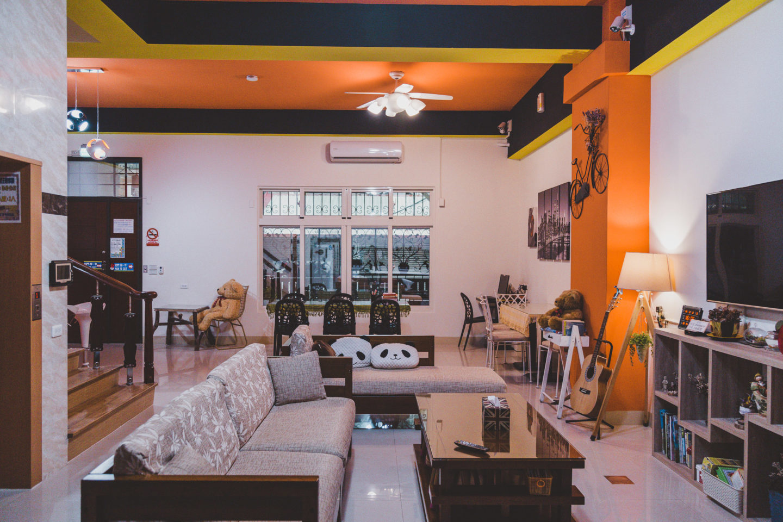 Lobby of Hualien Backpacker's Hostel