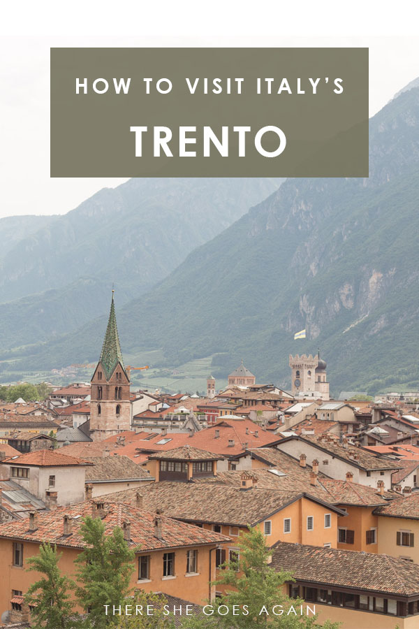 Have you heard of Trento, Italy? It's an extremely charming town in the Dolomites that you MUST visit! Here's a mini guide! #italy #trento #dolomites #italytravel
